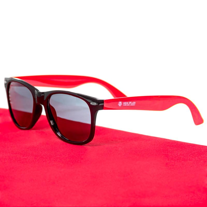Custom Two Tone Plastic Sunglasses