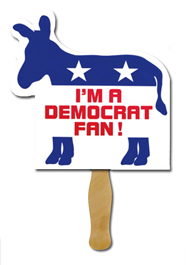 Donkey Outline Fan