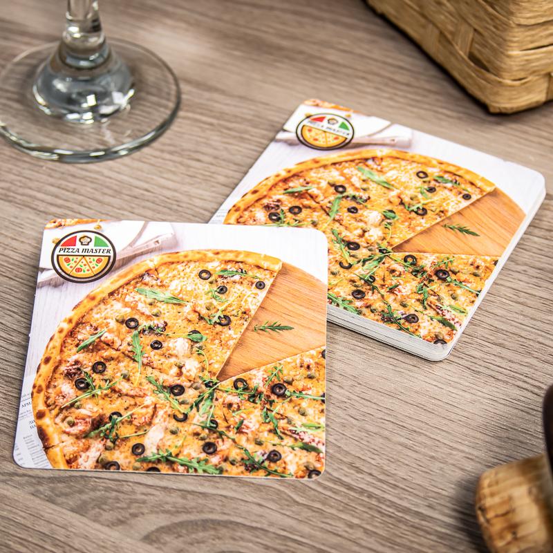 Custom Paper Coasters - 3.5