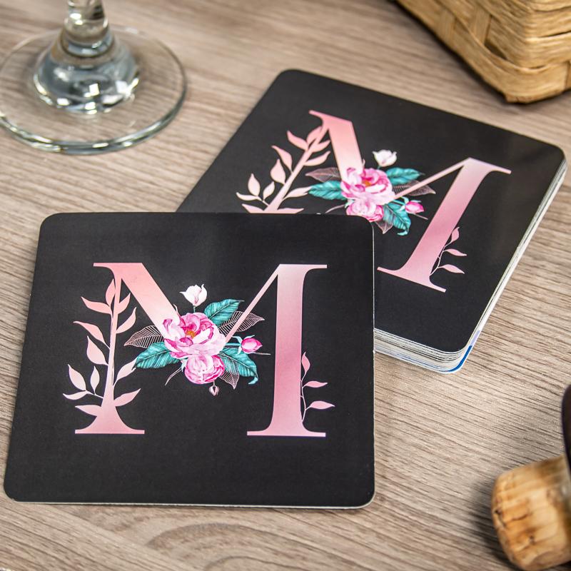 Custom Paper Coasters - 4