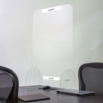 24 x 32 Inch Full Color Protective Acrylic Counter Barrier