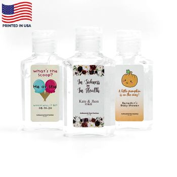 2 Oz Full Color Label Promotional Hand Sanitizers