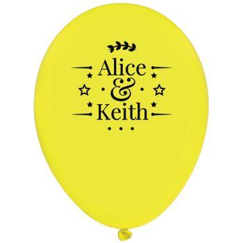 "Balloons Customized Cheap - Custom Custom 11"" Latex Balloons"