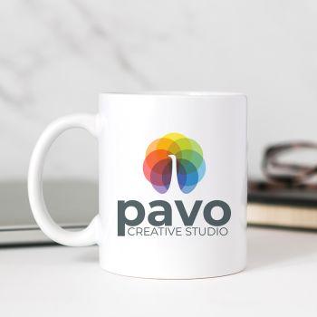 Custom Full Color Printing 11oz White Mugs