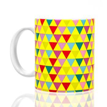 Fluorescent Neon Full Color 11oz White Mugs