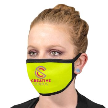 Fluorescent Neon Printed Reusable Face Masks