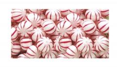 Hard Peppermint Balls - Customized Wrapper