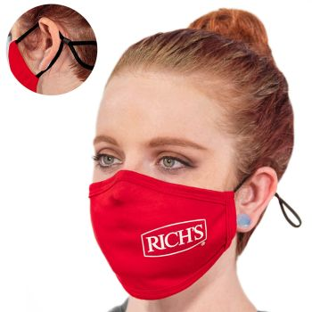 - Custom Premium Adjustable Fabric Face Masks
