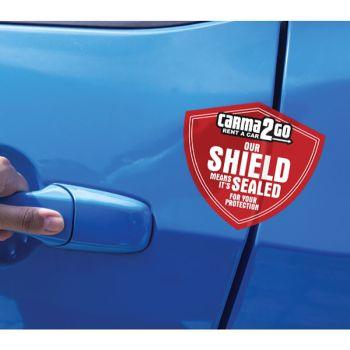 Safe & Sealed™ Red Void Label Seals for Doors