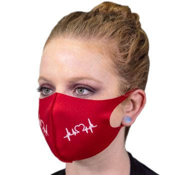Screen Printed Soft Fabric Reusable Face Masks