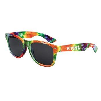Tye dye sunglasses
