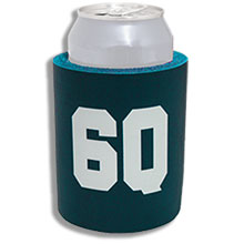 Custom Tough Solid Foam Koozies