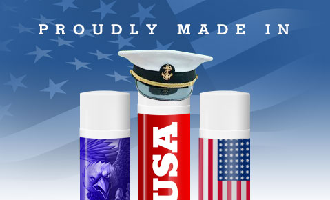 Custom Lip Balm - Proudly Made In USA